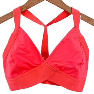 Free People Movement neon coral End Game Bra XS